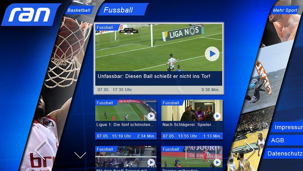 Von Fußball bis US Sport: Die ran App macht alle ran.de-Videoinhalte für Sma...