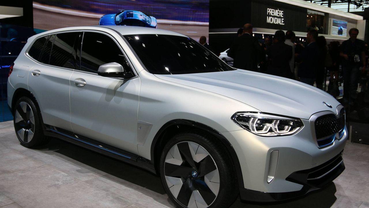 BMW iX3 - Bildquelle: imago/Sebastian Geisler