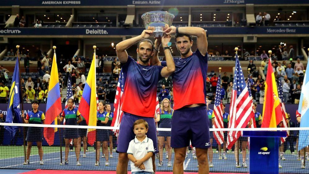 US Open: Cabal/Farah gewinnen Doppelwettbewerb - Bildquelle: AFPGETTY SID