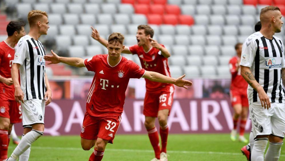 Am Sonntag empfängt der FC Bayern den SC Freiburg - Bildquelle: POOLAFPSIDSVEN HOPPE