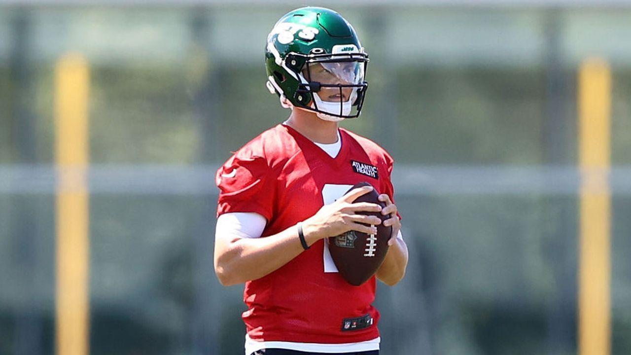 Platz 5: Zach Wilson (Quarterback, New York Jets)  - Bildquelle: 2021 Getty Images