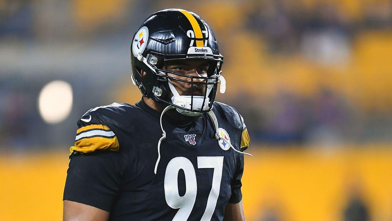 Platz 5: Cameron Hayward (Pittsburgh Steelers) - Bildquelle: 2019 Getty Images
