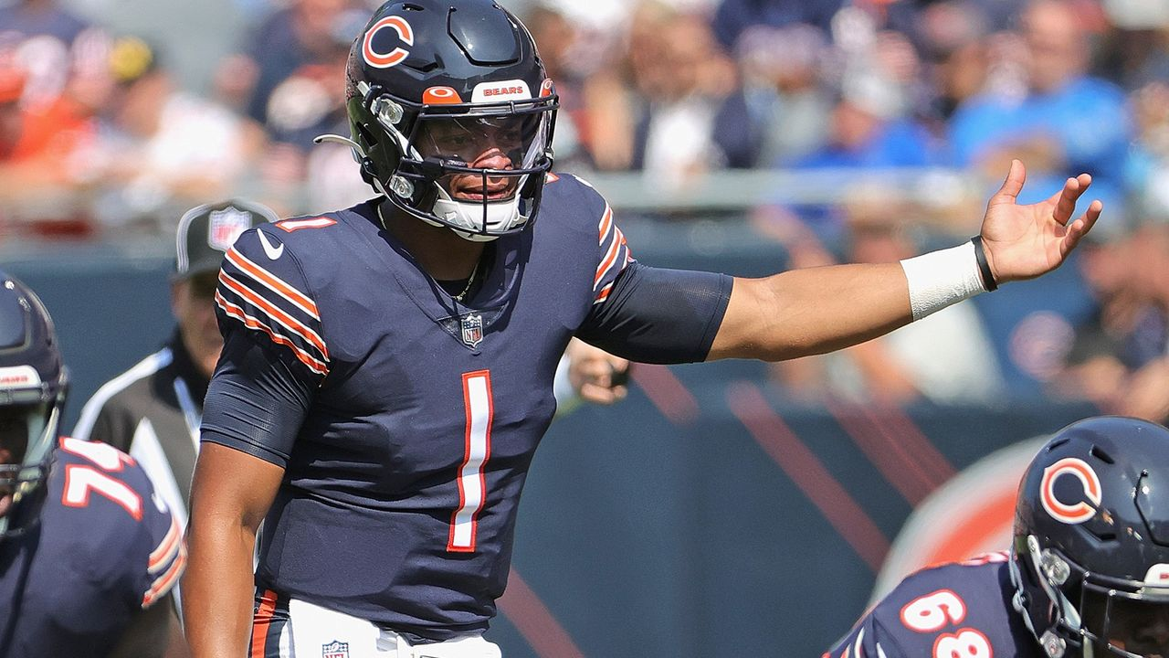 Justin Fields (Chicago Bears) - Bildquelle: 2021 Getty Images