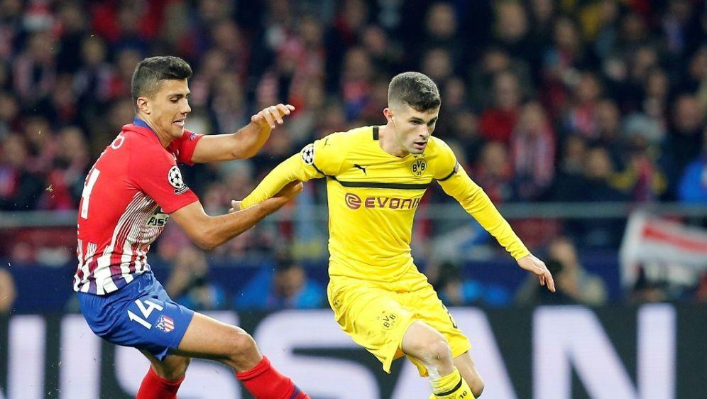 Athletico Madrid besiegt Borussia Dortmund mit 2:0 - Bildquelle: FIROFIROSID