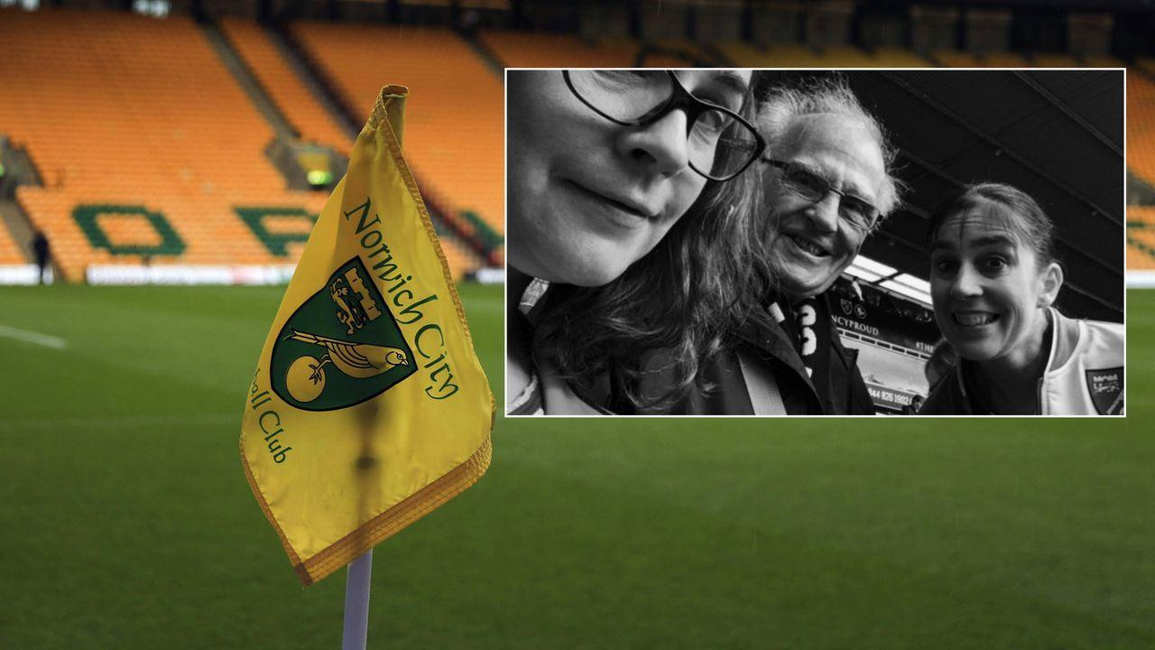 Für eine Runde im Pub: Norwich-Fan vererbt Team 100 Pfund - Bildquelle: Imago/twitter@fun88eng