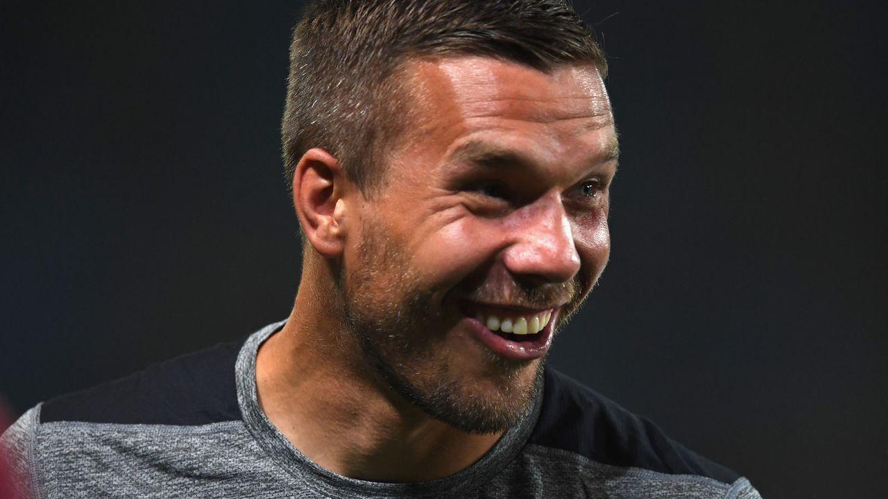 Lukas Podolski - Bildquelle: 2017 Getty Images