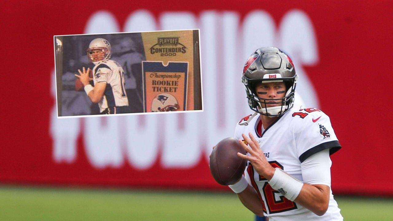 Dritter Rekord! Rookie-Karte von Tom Brady bringt Millionen ein - Bildquelle: imago images/ZUMA Wire