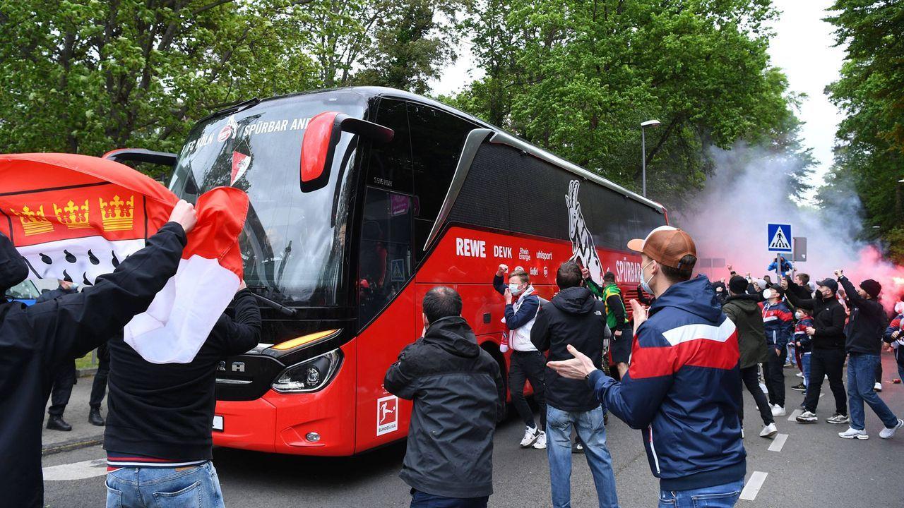 Köln: Letzte Motivation für das Team - Bildquelle: Imago Images