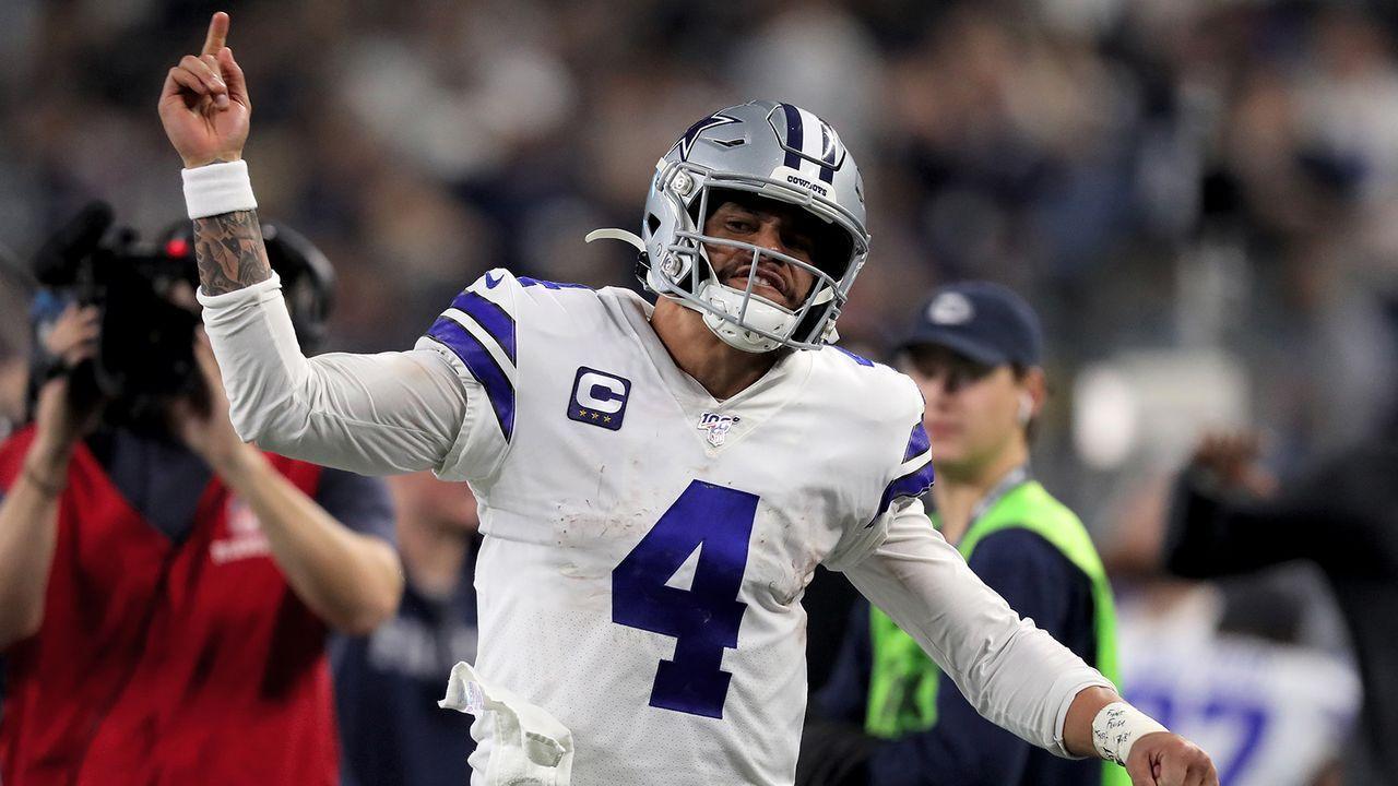 Platz 1: Dak Prescott (Dallas Cowboys) - Bildquelle: Getty Images