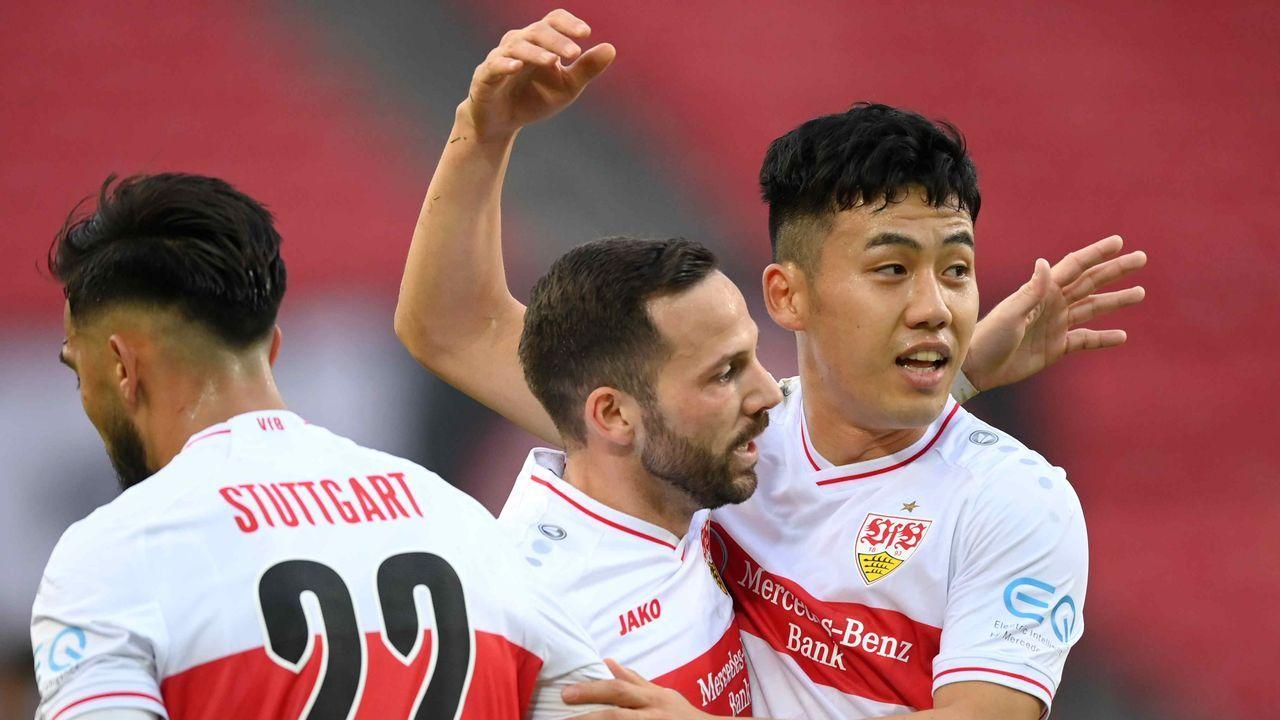 Platz 3: VfB Stuttgart - Durchschnittlicher Tabellenplatz der Gegner: 6,2 - Bildquelle: getty