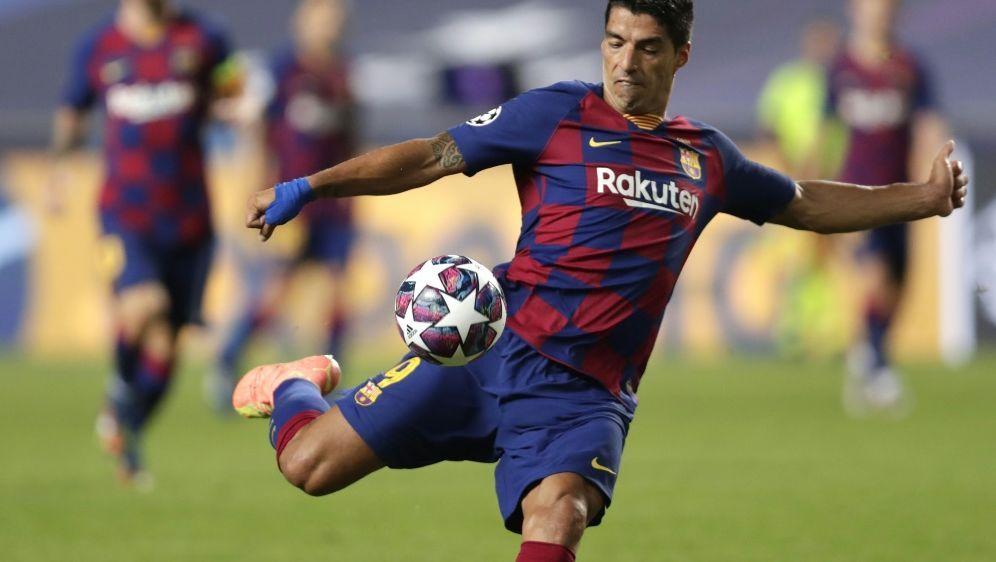 Luis Suarez steht vor einem Wechsel zu Atletico - Bildquelle: AFPSIDMANU FERNANDEZ