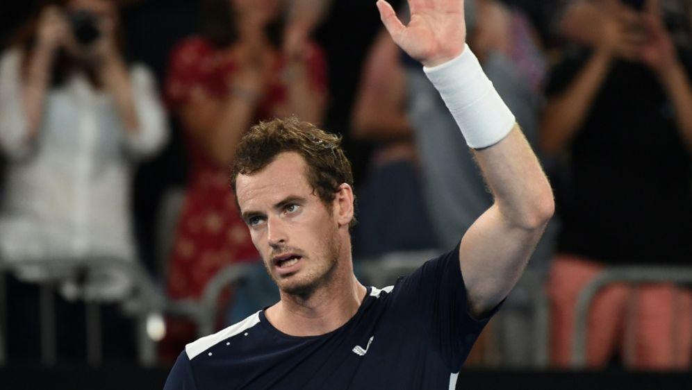Andy Murray lieferte einen großen Kampf - Bildquelle: AFPSID