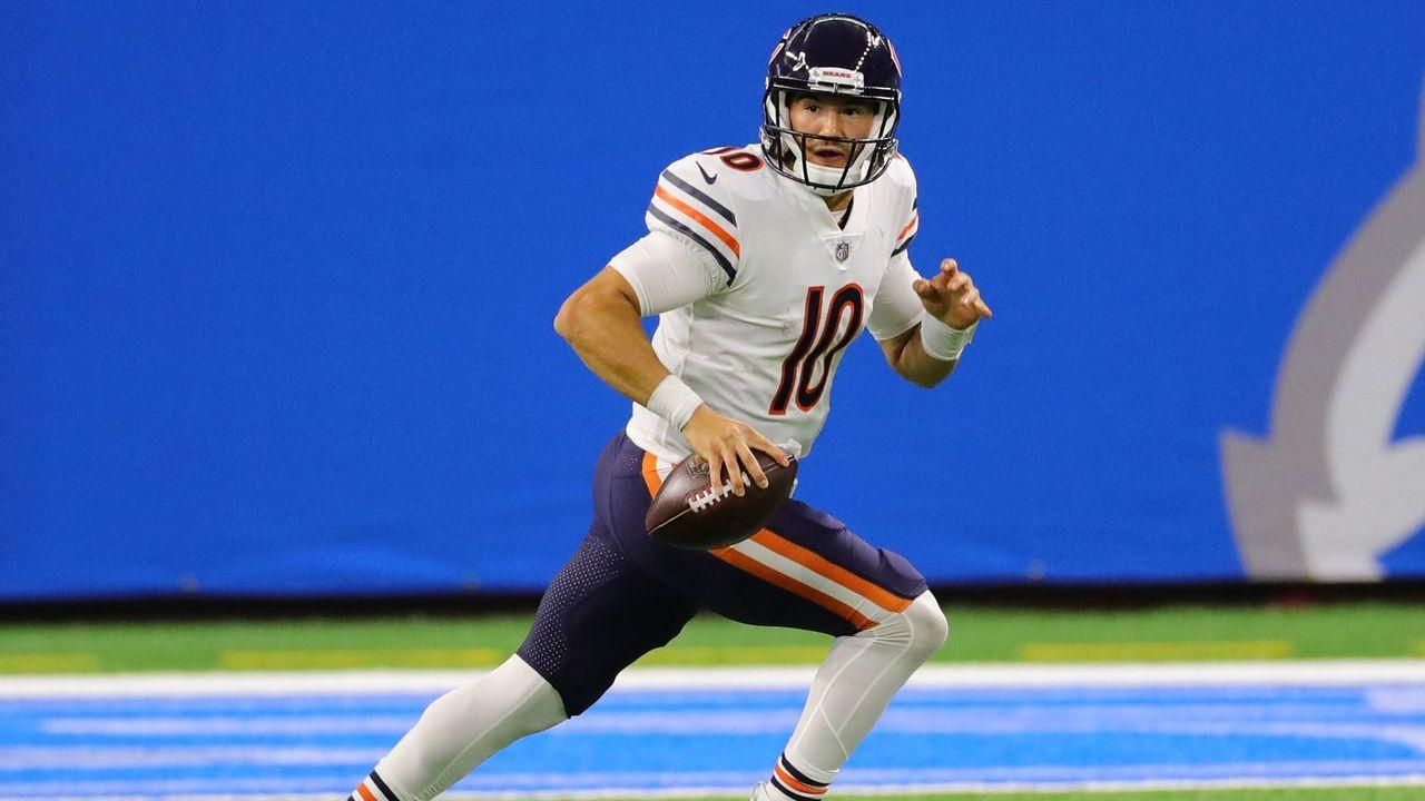 Schlechte Leistungen: Mitchell Trubisky (Chicago Bears) - Bildquelle: 2020 Getty Images