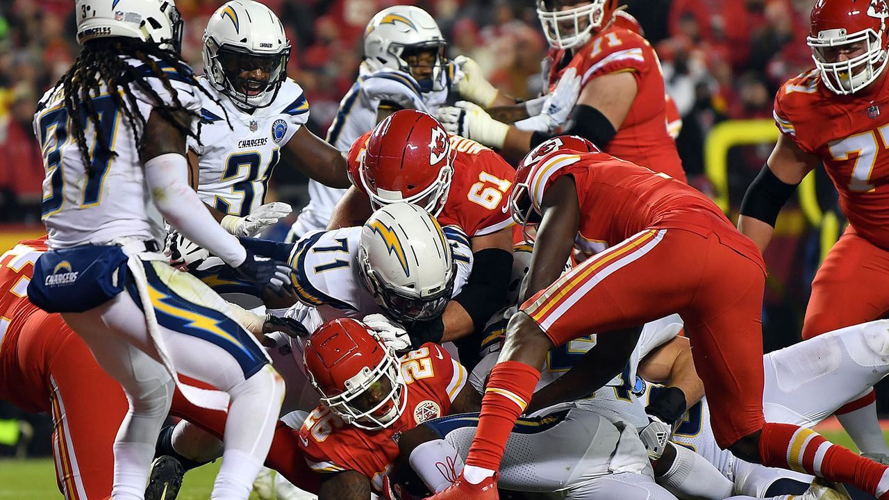 Woche 17: Los Angeles Chargers at Kansas City Chiefs - Bildquelle: 2018 Getty Images