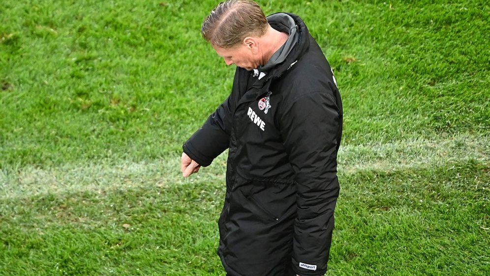 Letzter Abgang als Kölner Trainer? Markus Gisdol ließ nach dem 2:3 gegen Mai... - Bildquelle: Getty Images