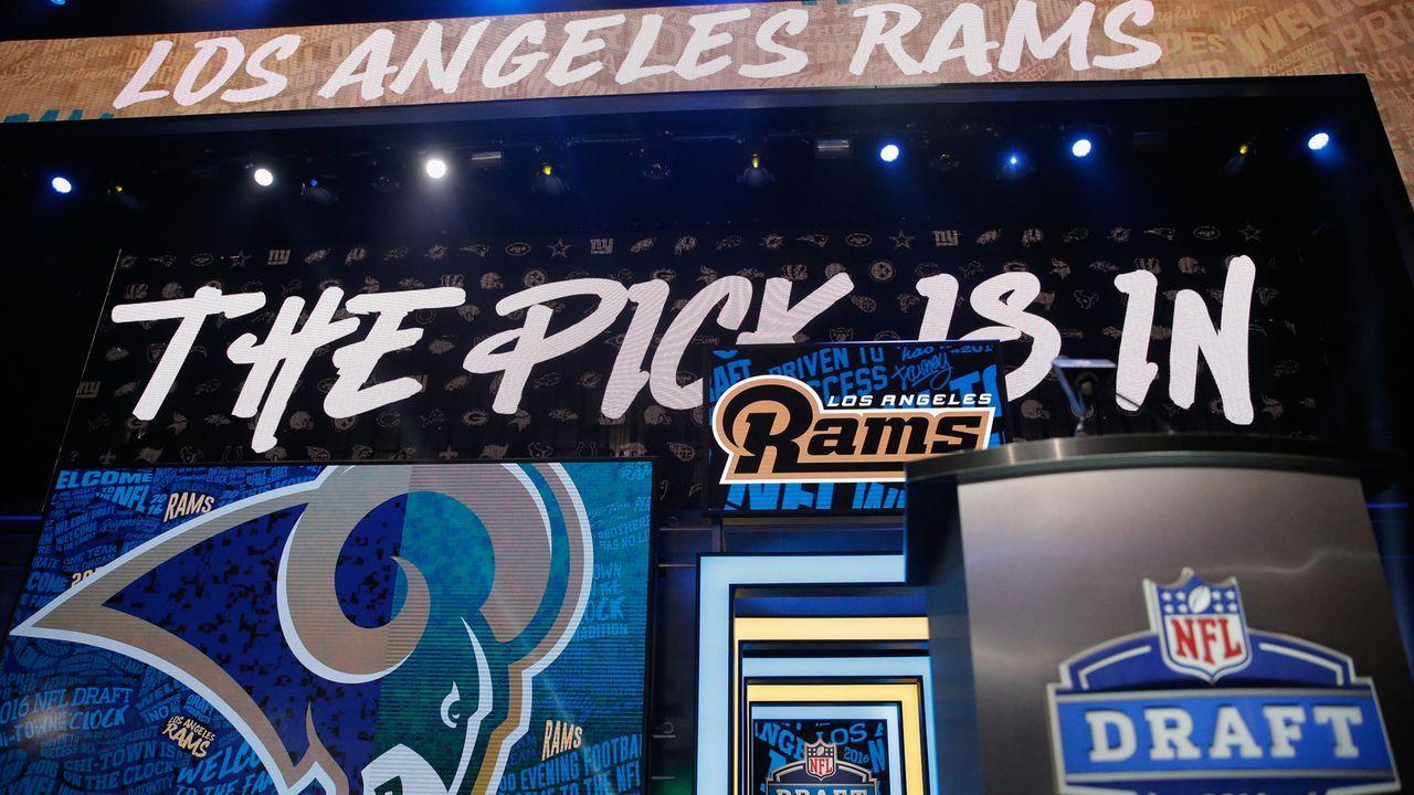 Los Angeles Rams - Bildquelle: 2016 Getty Images