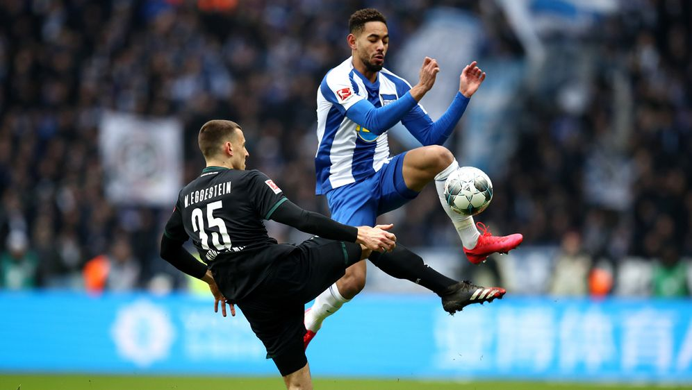 Cunha rettet Hertha mit seinem Treffer einen Punkt - Bildquelle: getty