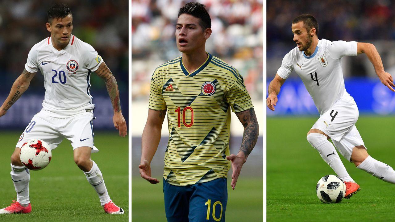 Copa America 2019: Diese Bundesliga-Stars sind dabei - Bildquelle: getty