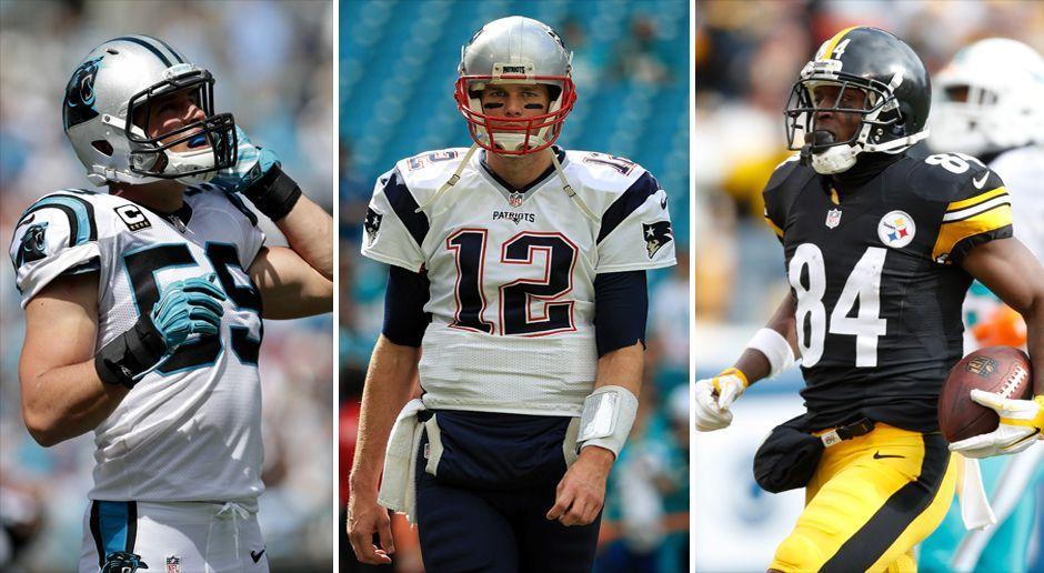 NFL-Trikots - Bildquelle: Getty Images 2016