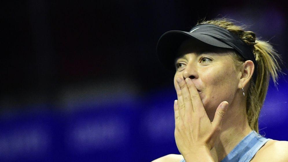 Scharapowa gibt ihr Comeback beim Turnier auf Mallorca - Bildquelle: AFPSIDOLGA MALTSEVA