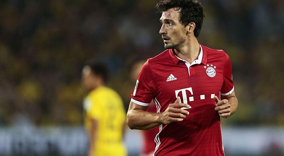 Zentraler Verteidiger: Mats Hummels (Borussia Dortmund/ FC Bayern München) - Bildquelle: 2016 Getty Images