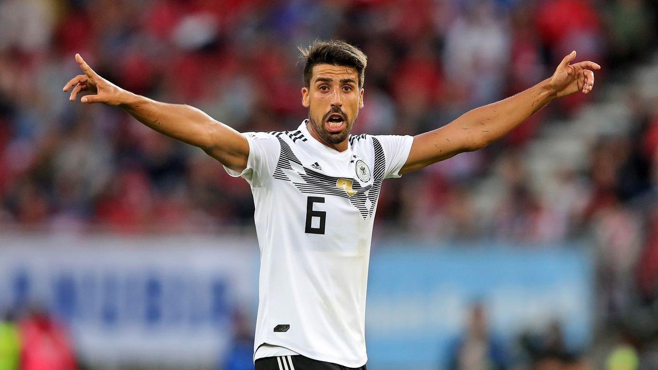Sami Khedira (Mittelfeld) - Bildquelle: 2018 Getty Images