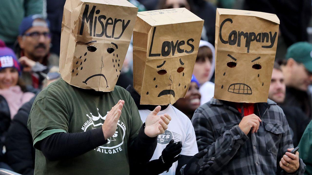 Verlierer: Fans der New York Jets - Bildquelle: Getty Images