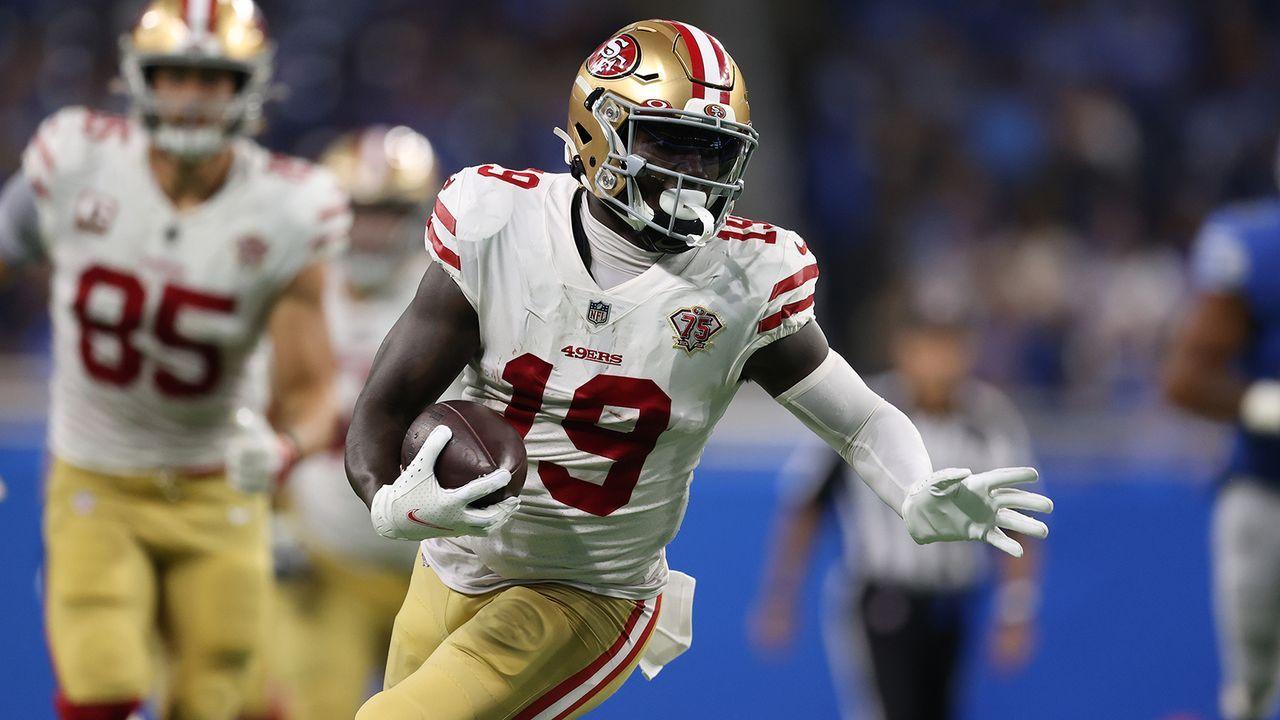 Deebo Samuel (WR, San Francisco 49ers) - Bildquelle: Getty Images