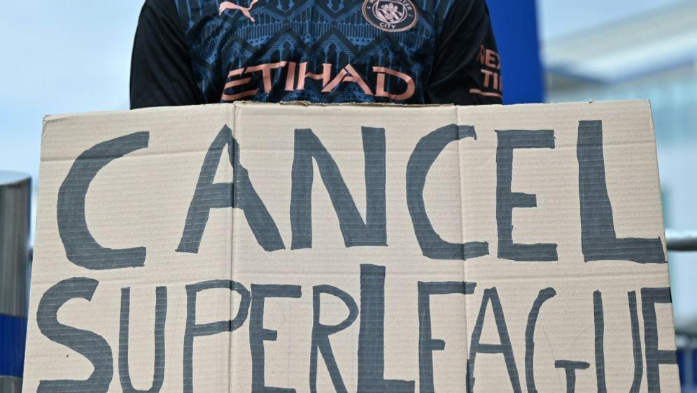 ECA zeigt sich offen für Rückkehr der Super-League-Teams - Bildquelle: AFPSIDJUSTIN TALLIS