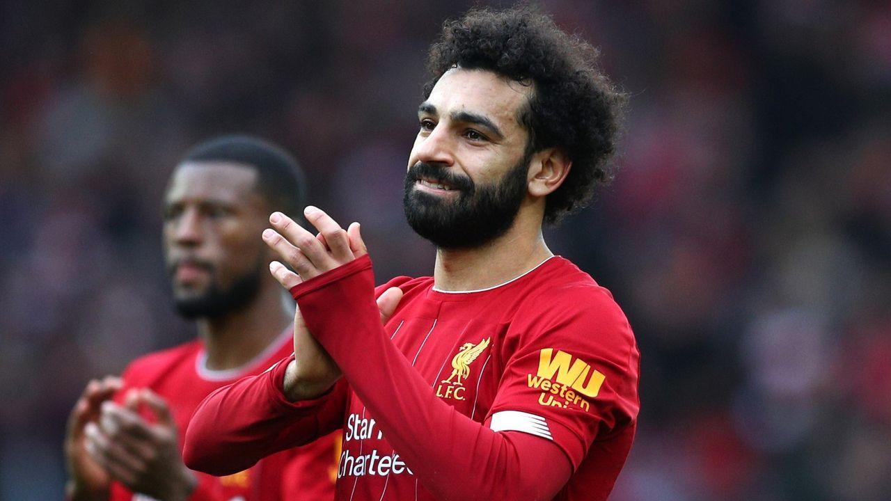 Platz 5: Mo Salah (FC Liverpool) - Bildquelle: Getty