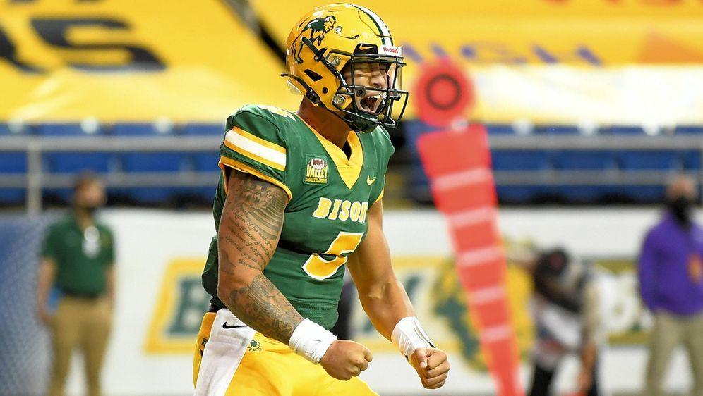 Viel Talent, wenig Erfahrung: Quarterback Trey Lance ist vor dem NFL Draft 2... - Bildquelle: imago images/ZUMA Wire