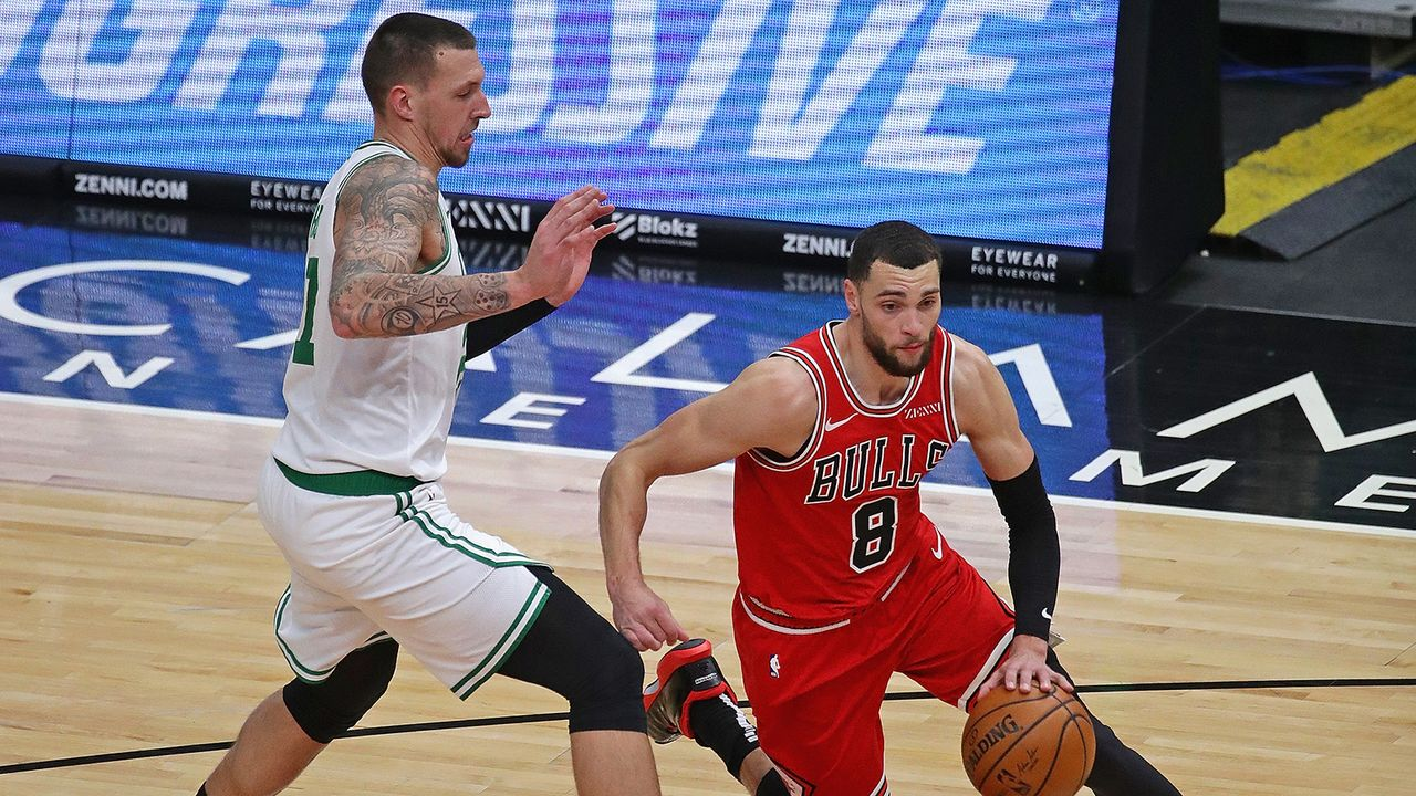 Daniel Theis wechselt von Boston Celtics zu Chicago Bulls - Bildquelle: Getty Images