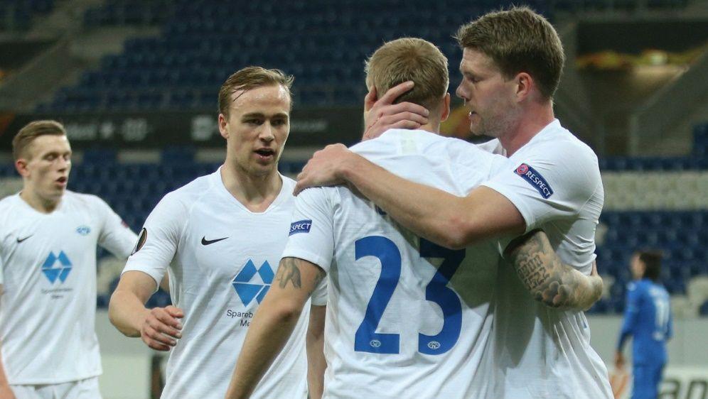 Molde gegen Granada wird in der Puskas-Arena ausgetragen - Bildquelle: AFPSIDRALPH ORLOWSKI