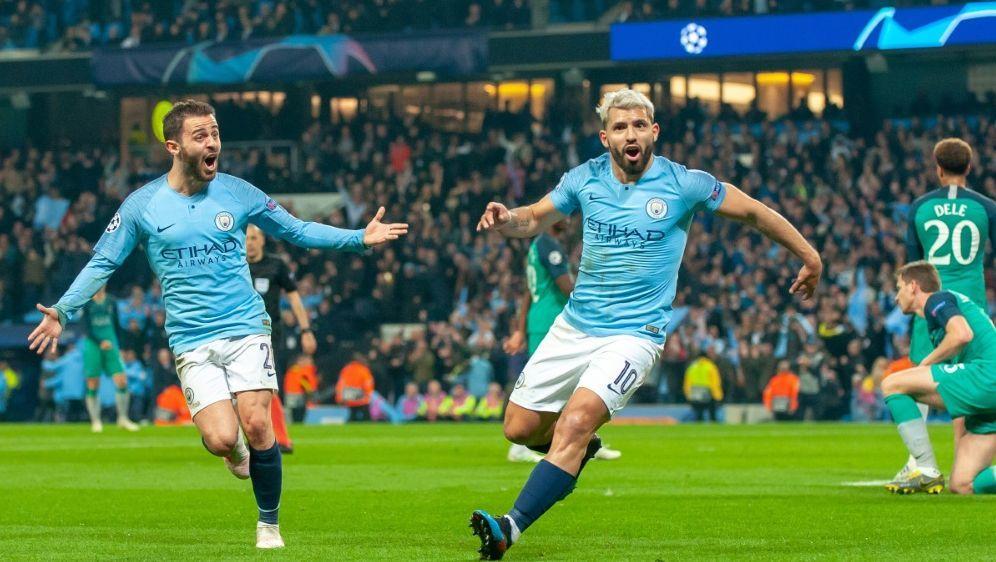 City siegt gegen Tottenham - Bildquelle: PIXATHLONPIXATHLONSID