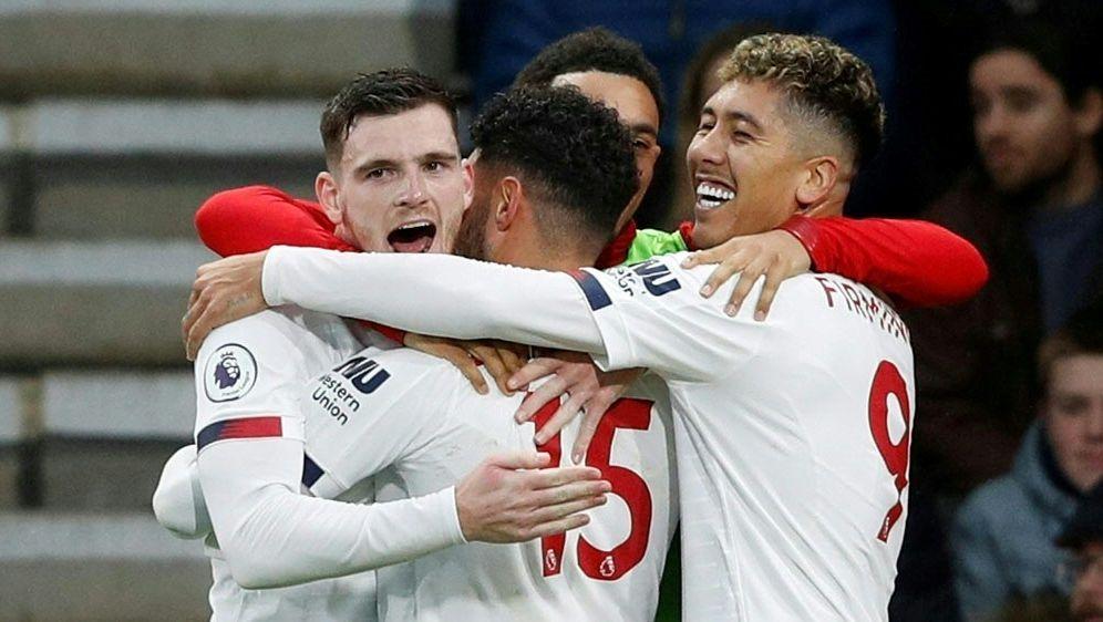 Liverpool schlägt Bournemouth souverän mit 3:0 - Bildquelle: AFPSIDAdrian DENNIS
