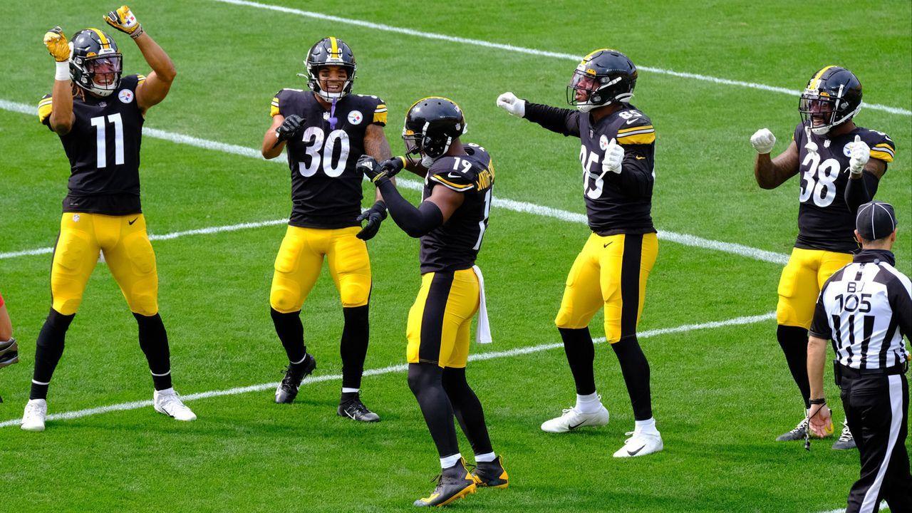 Nach acht Spielen weiter ungeschlagen: Pittsburgh Steelers träumen von perfekter NFL-Saison - Bildquelle: imago images/ZUMA Wire