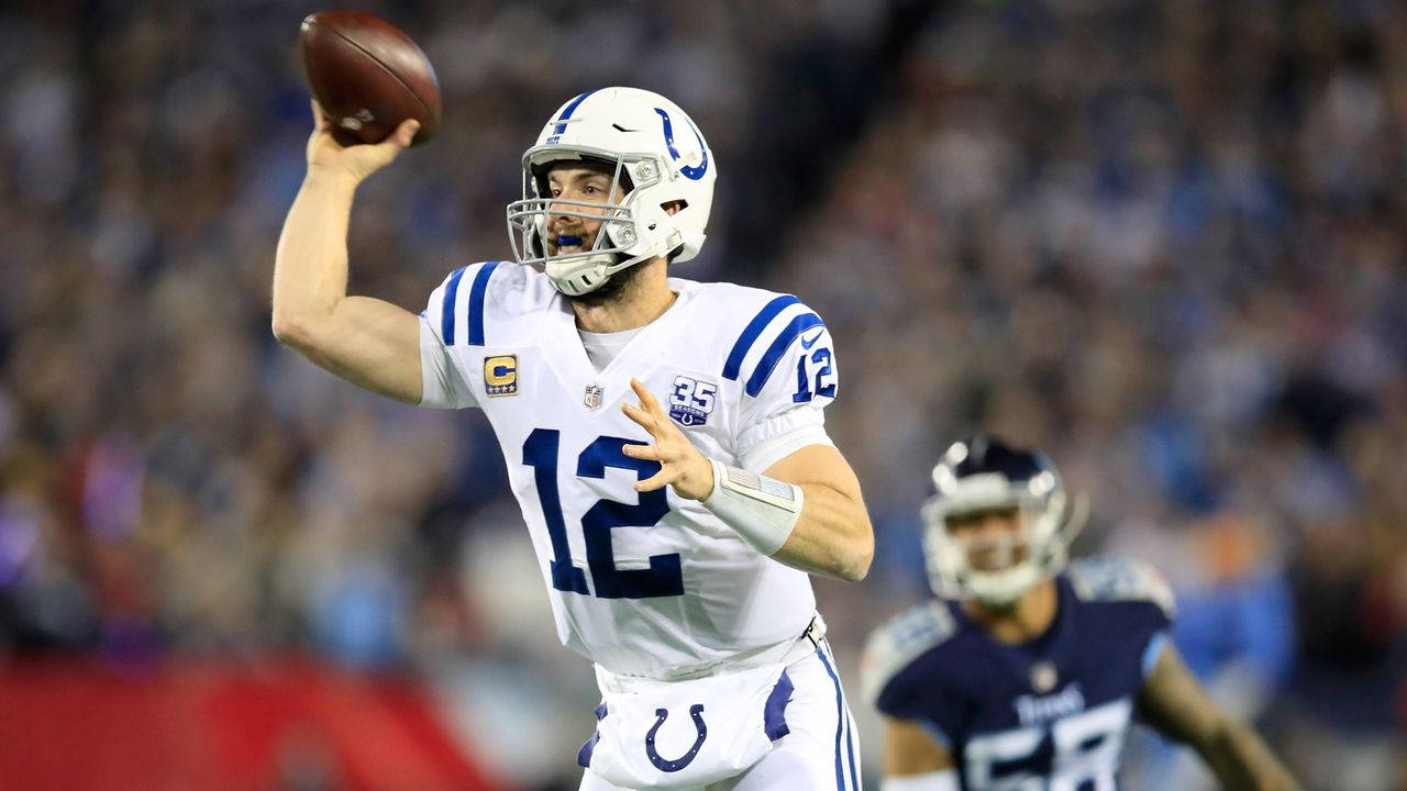 Indianapolis Colts: Andrew Luck - Bildquelle: 2018 Getty Images