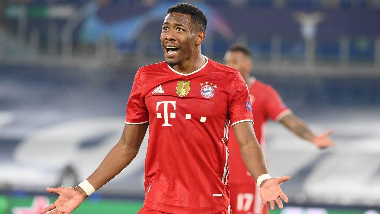 David Alaba (FC Bayern München) - Bildquelle: imago images/LaPresse