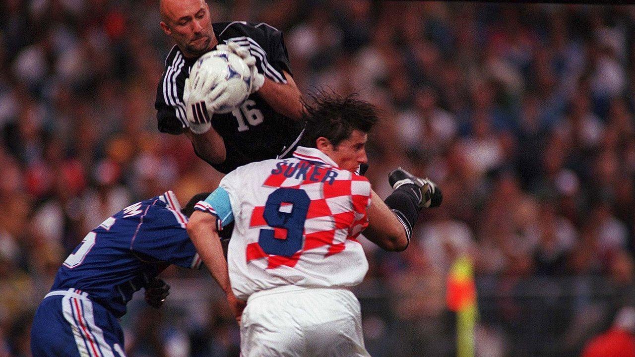 Frankreich noch ohne Niederlage gegen Kroatien - Bildquelle: Bongarts
