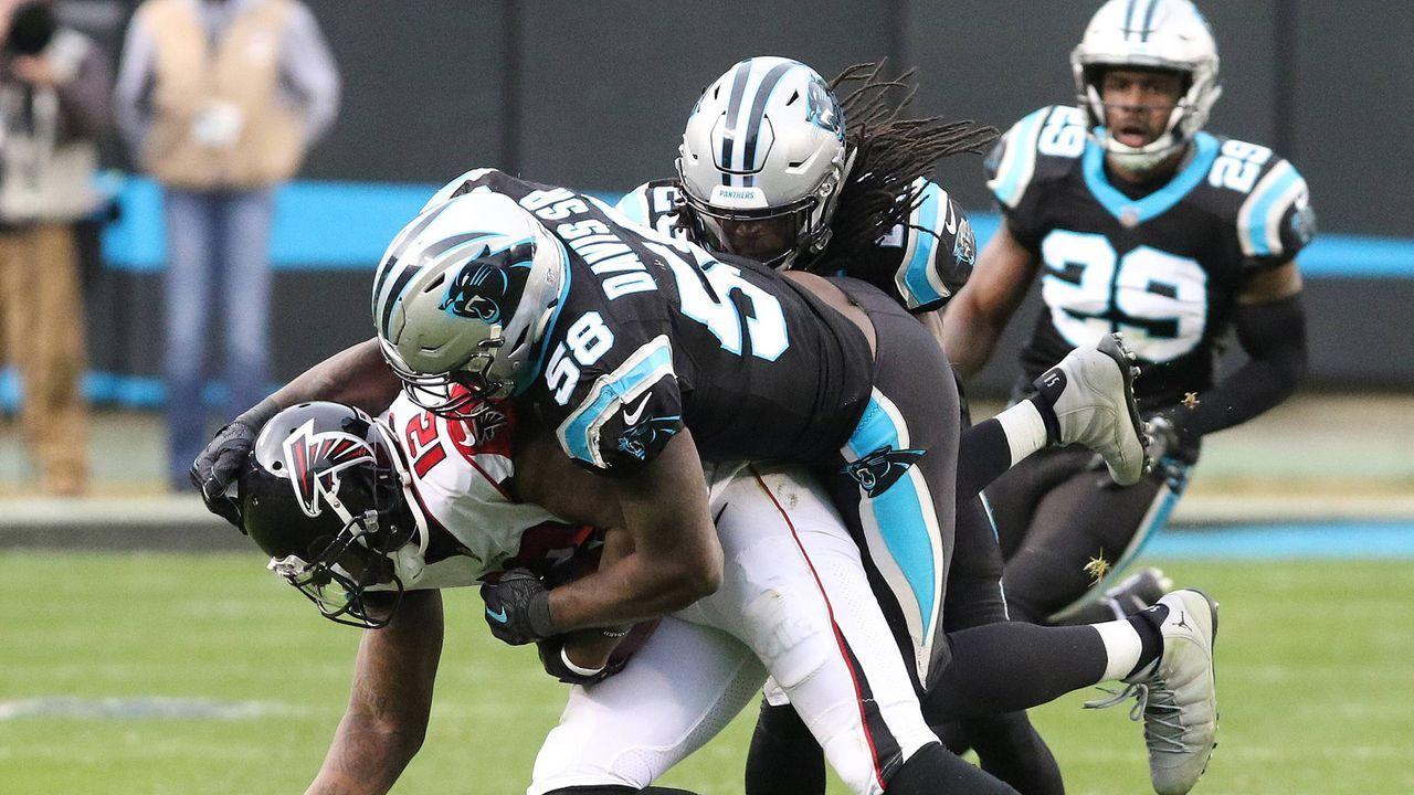 Platz 25: Carolina Panthers - Bildquelle: 2016 Getty Images