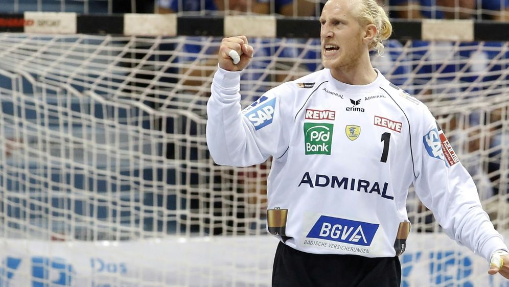 Appelgren hielt den Sieg für die Löwen gegen Kiel fest - Bildquelle: PIXATHLONPIXATHLONSID