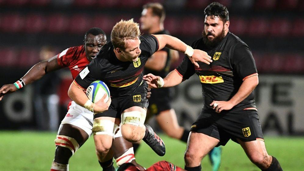 Die deutsche Mannschaft gewinnt deutlich gegen Kenia - Bildquelle: AFPSIDBORIS HORVAT