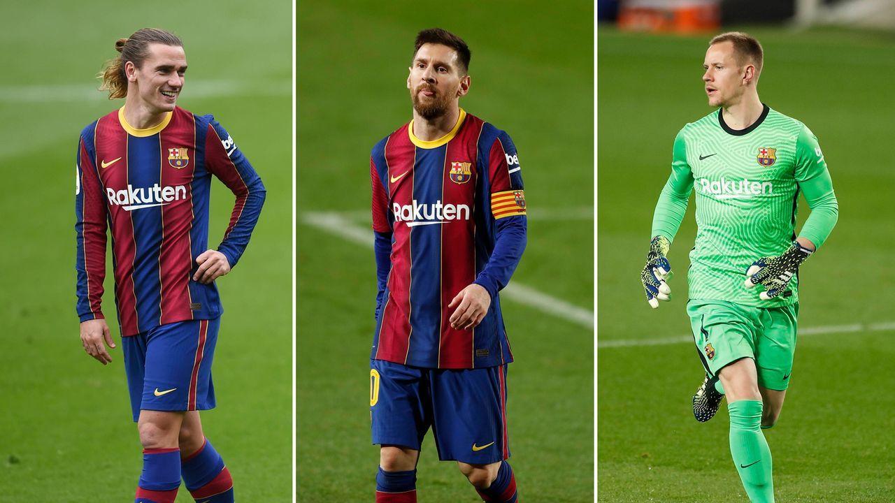 Das verdienen die Barca-Stars - Bildquelle: Imago Images