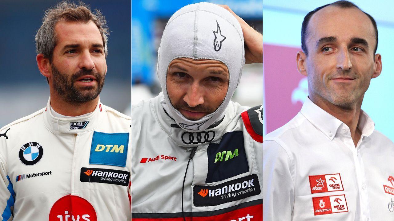 Rast, Glock, Kubica & Co.: Das sind die Fahrer der DTM 2020  - Bildquelle: Imago
