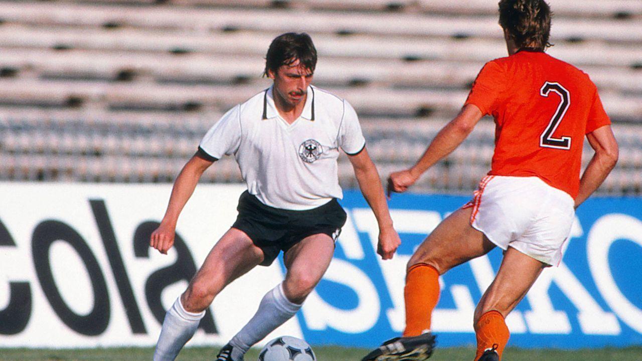 EM 1980: Klaus Allofs (BR Deutschland) - Bildquelle: Imago Images