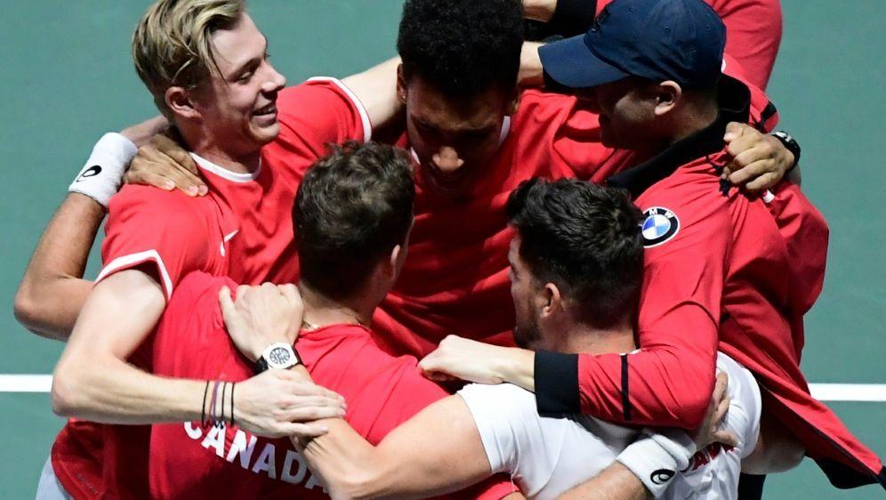 Kanada zieht ins Davis-Cup-Finale ein - Bildquelle: AFPSIDJAVIER SORIANO