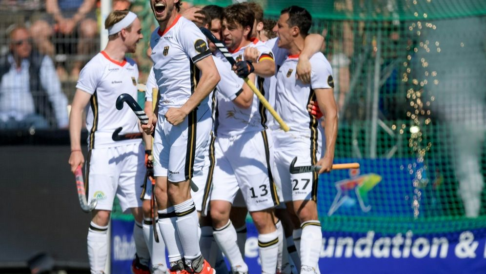 Deutschland steht im Finale der Hockey-EM - Bildquelle: FIROFIROSID