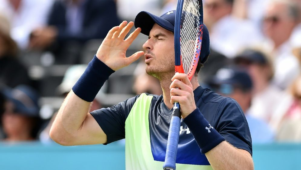 Andy Murray ärgert sich über sein verlorenes Comeback - Bildquelle: AFPSIDGLYN KIRK