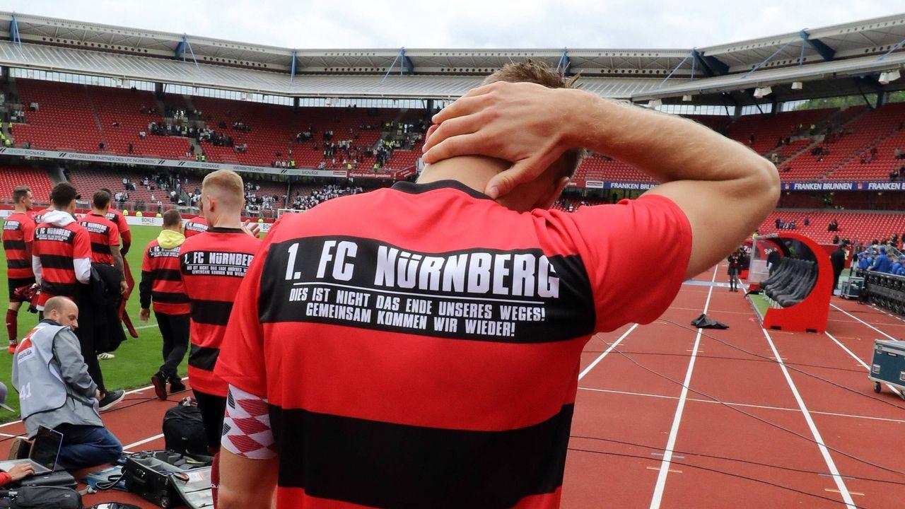 Platz 14 in der ewigen Tabelle: 1. FC Nürnberg