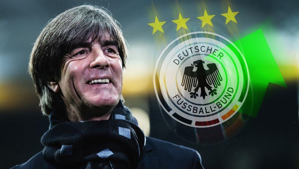 Joachim Löw verbessert sich mit dem DFB-Team in der Weltrangliste. - Bildquelle: getty